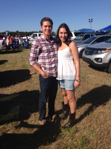 Kevin and I at Luke Bryan