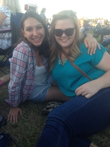 Katelyn and I at Luke Bryan
