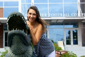 One of my first days at UF